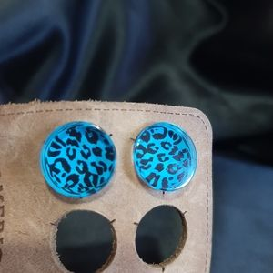 Other - Leopard Animal Print Flared Plugs